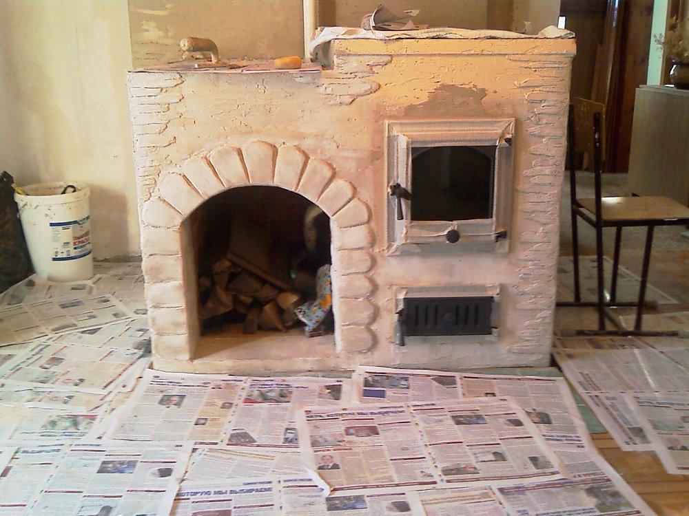 декор печи в доме фото металлы можно найти