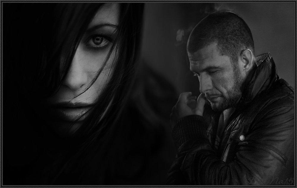 Картинка мужчина и женщина в разлуке