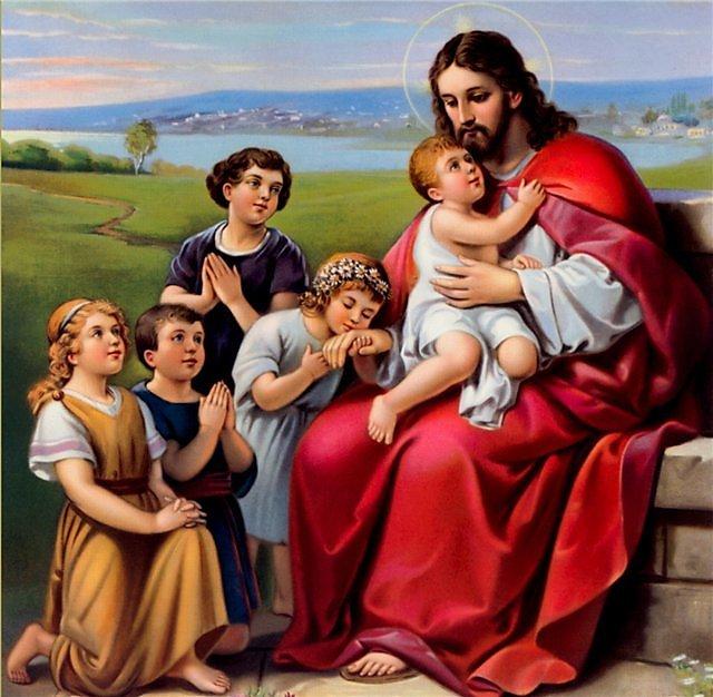 Картинки о иисусе христе для детей