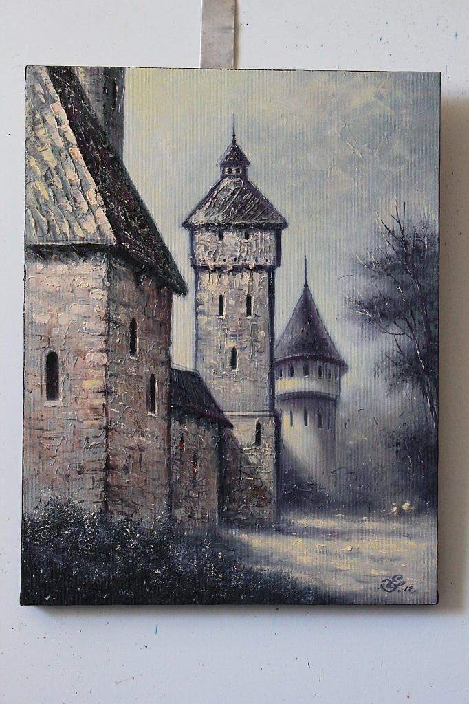Картинки к произведению мусоргского старый замок