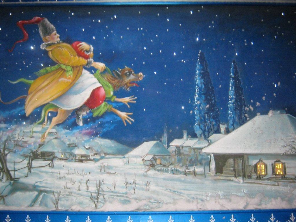 Картинки ночь перед рождеством