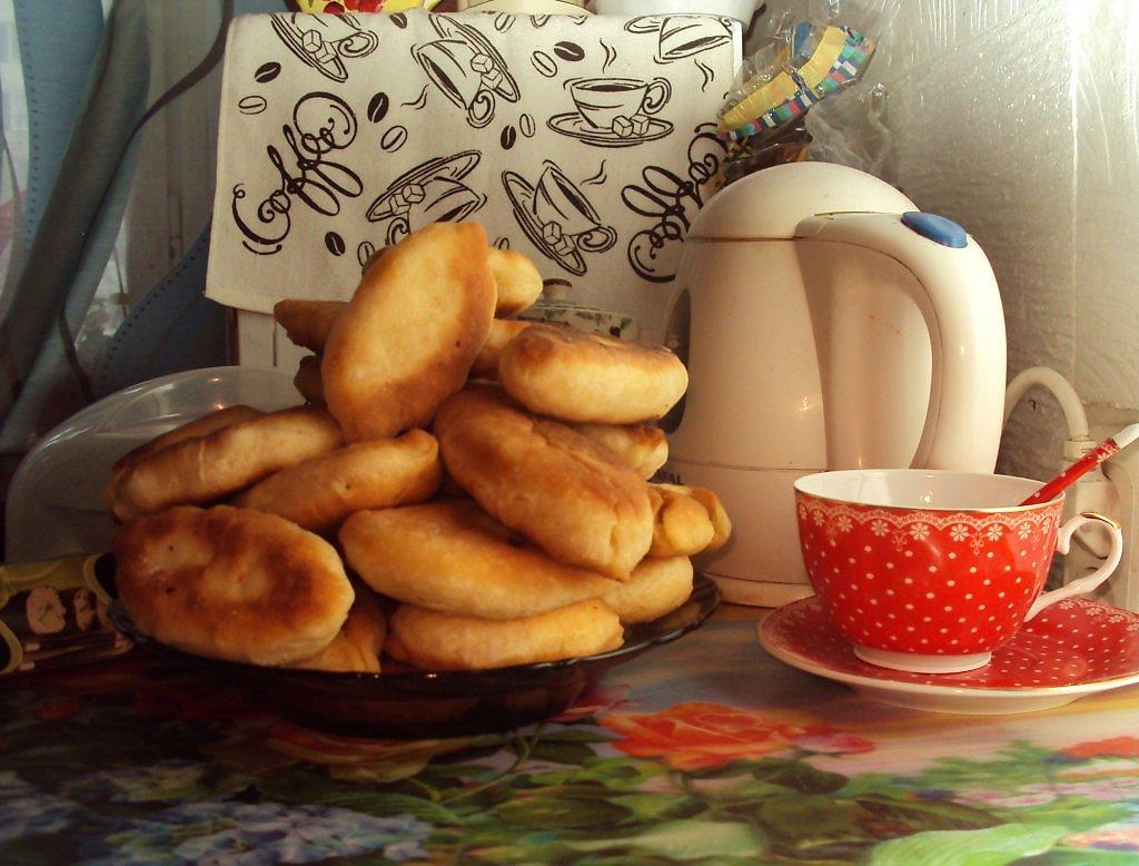 Картинки с чаем и пирогами, бумаги для