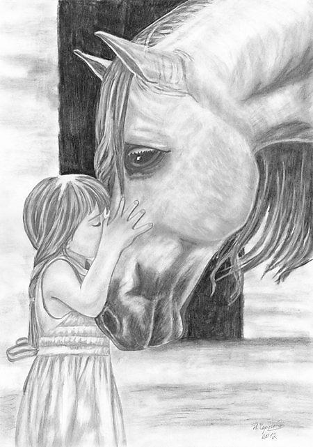 Картинки по запÑ€осу девочка с лошадÑÂŒÑÂŽ