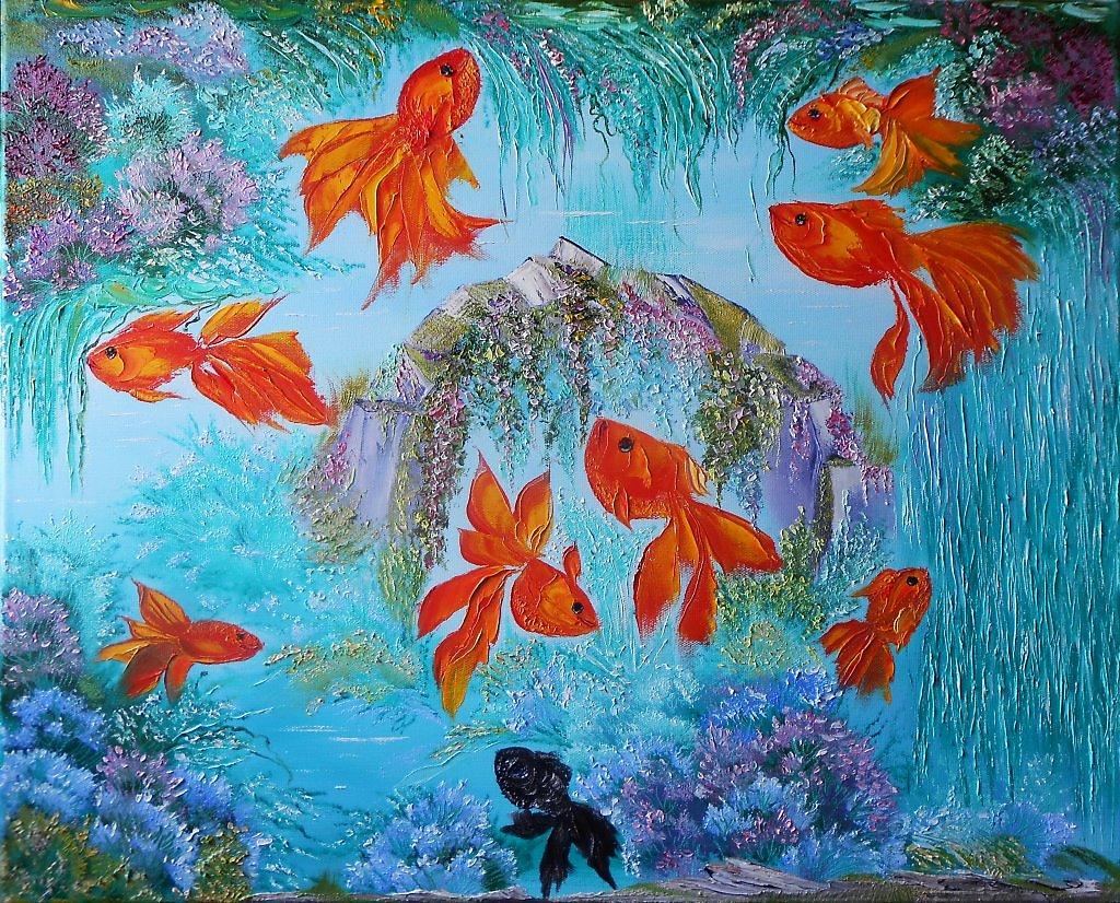 Картинка с рыбками по фен шуй