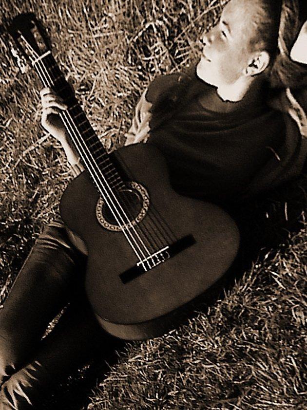 Открытки, открытки с гитарой фото