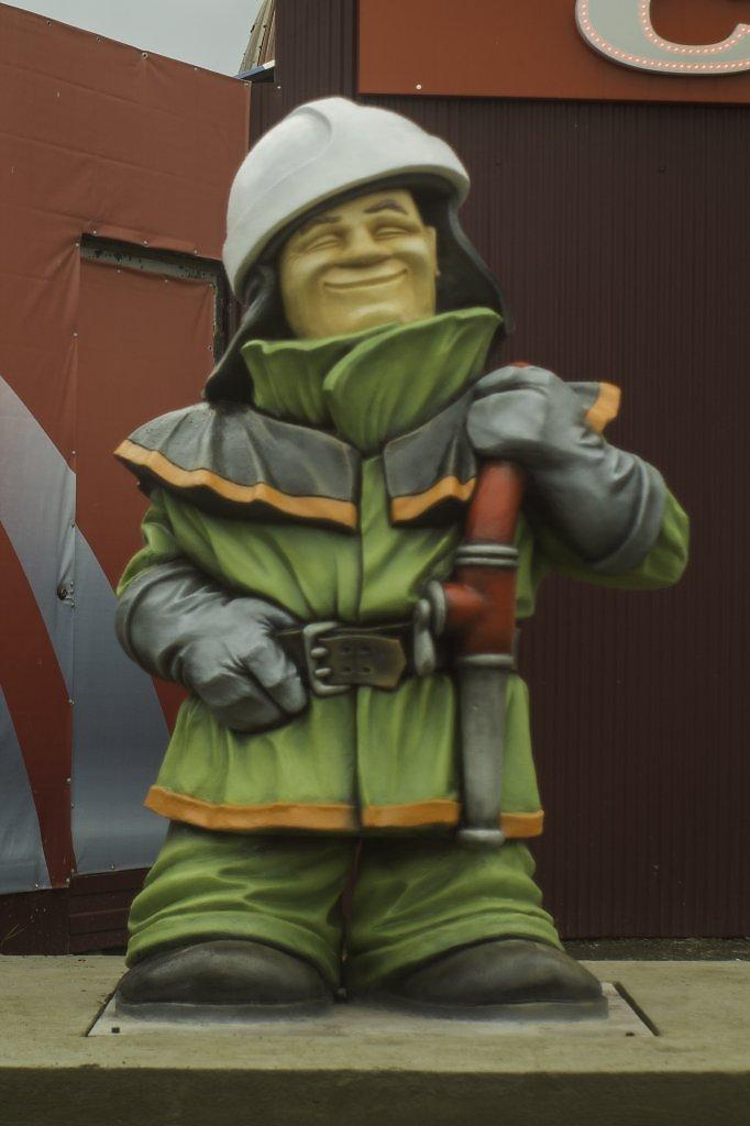 Пожарник картинка смешная