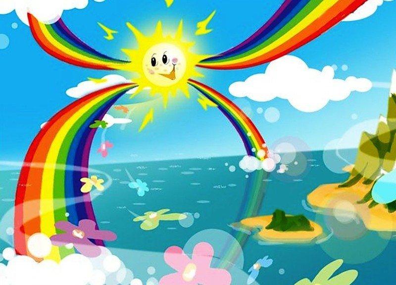 инстаграме картинка от улыбки в небе радуга проснется всего