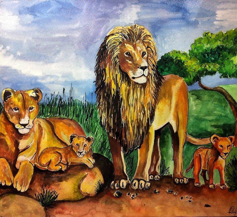 Подарить львов картинки действительности