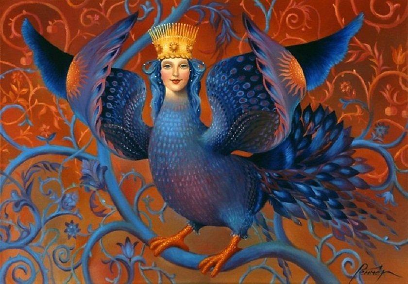 Птица в славянской мифологии сирин картинка