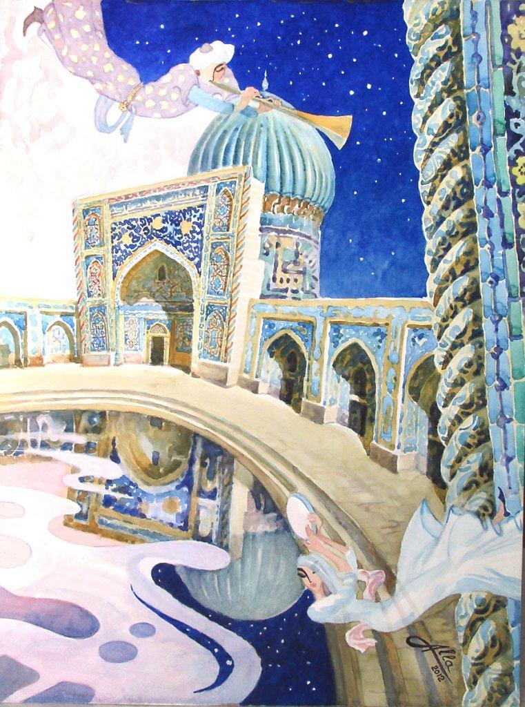 отдельные картинки с арабскими сказками твой день глубоким