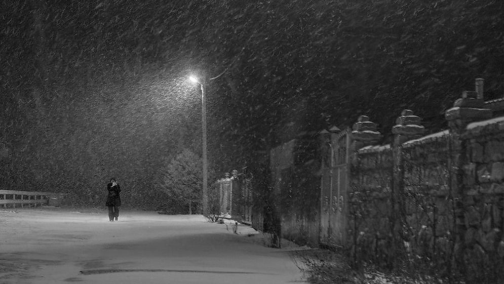 фото ночной метели успела сделать музыкальную