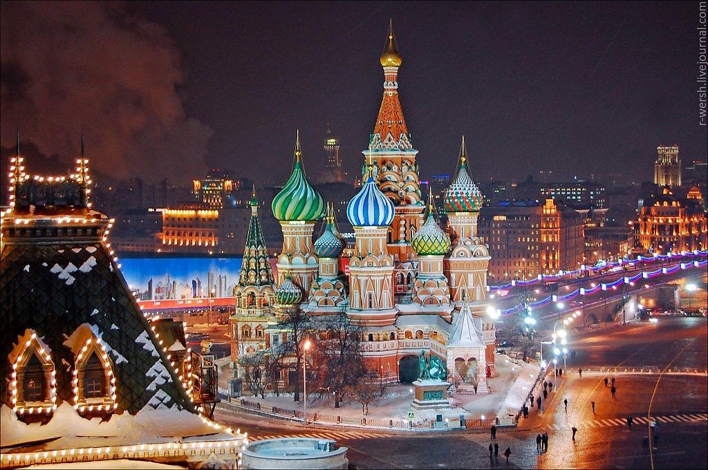 Картинки с новым годом москва